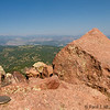 Bear Peak : Bear Peak (elev. 8461') is the highest point in Boulder, Colorado.  Here's a late summer hike via the Fern Canyon Trail, starting from the National Center for Atmospheric Research (NCAR) parking lot.
