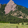 Flatirons Nature Walk : A summer hike at Chautauqua National Historic Landmark, to the flatirons rock formations in the foothills of the Front Range, above Boulder, Colorado.